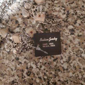 Womens costume silver bracelet lead free